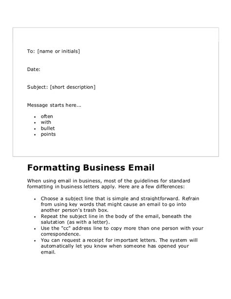 business letters  english