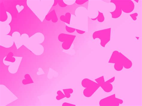 pink love heart backgrounds wallpaper cave