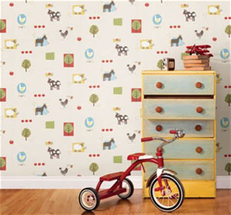 Wallpaper With Animals For Rooms - wallpaper for rooms and nursery decor ideas
