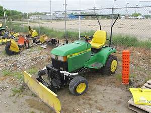 John Deere 425 Attachments   John Deere 400 Series