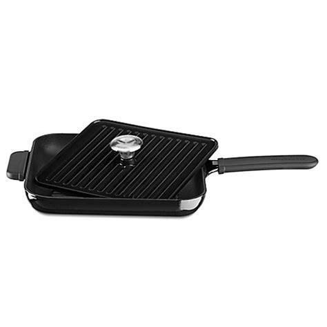 Kitchenaid Grill Panini by Kitchenaid 174 Cast Iron Grill And Panini Press Bed Bath