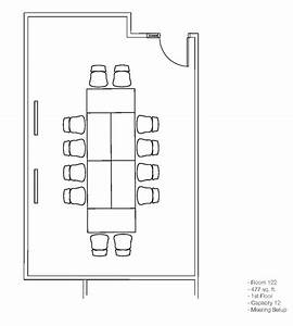 Conference Room 121  U0026 122 Layouts