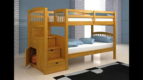 loft bed plansbunk bed plans step  step   build  bunk bedloft bed plans youtube