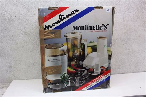 moulinette cuisine moulinette s food preparation system bodnarus auctioneering