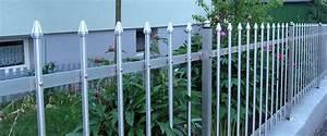 Gartenzaun Aus Metall : gartenzaun lugano aus metall g nstig vom hersteller ~ Orissabook.com Haus und Dekorationen