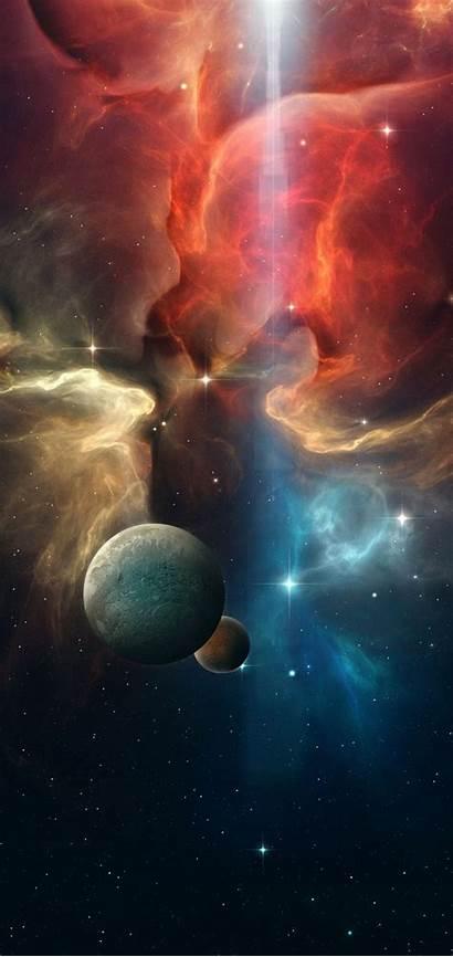 Space Multicolor Note Planet Galaxy Samsung 4k