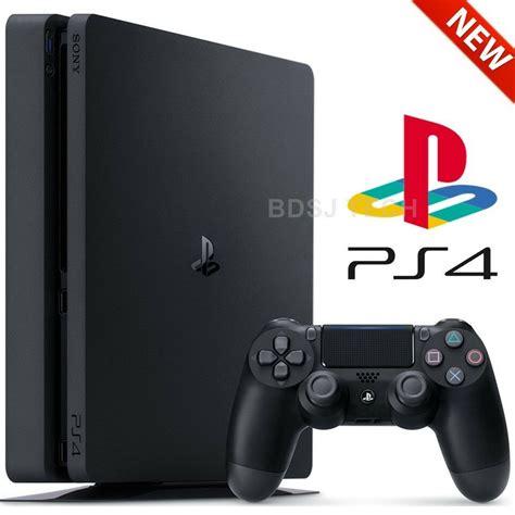 Playstation 4 Console Ebay playstation 4 slim 500gb console ps4 black sony retail