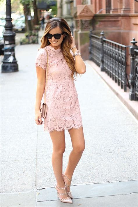 lovely blush lace blush bag blush shoes