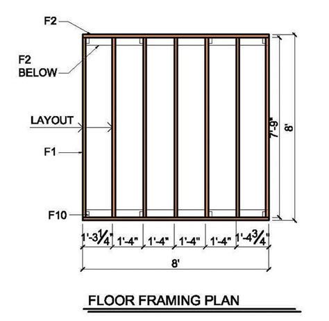 8x8 floating deck plans 8 215 8 lean to shed plans blueprints for garden shed