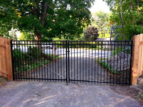 driveway gates aluminum driveway gates roselawnlutheran