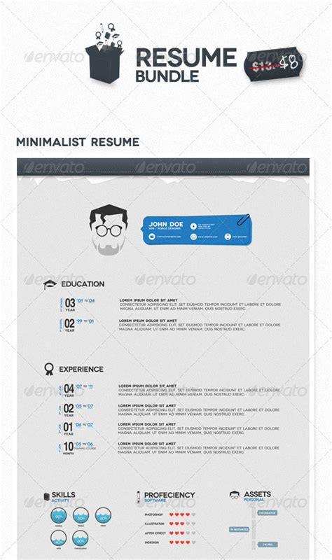 Best Design Resume Templates by 20 Best Resume Templates Web Graphic Design Bashooka