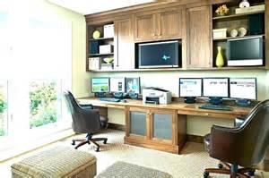 Two Person Home Office Desk Medium Person Home Office Desk