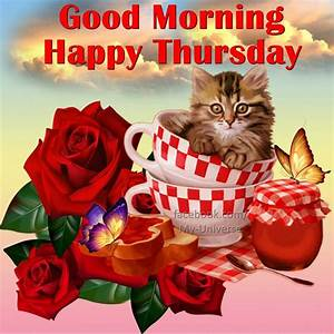 Good Morning Wishes On Thursday Pictures, Images