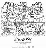 Pantry Tangle Zen Shutterstock Reserves Doodle sketch template
