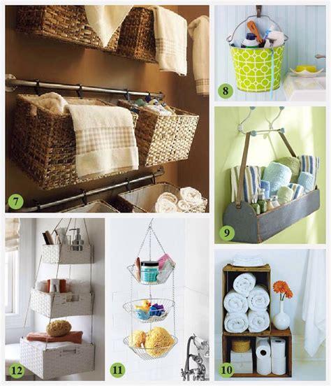 small bathroom storage ideas home pinterest small