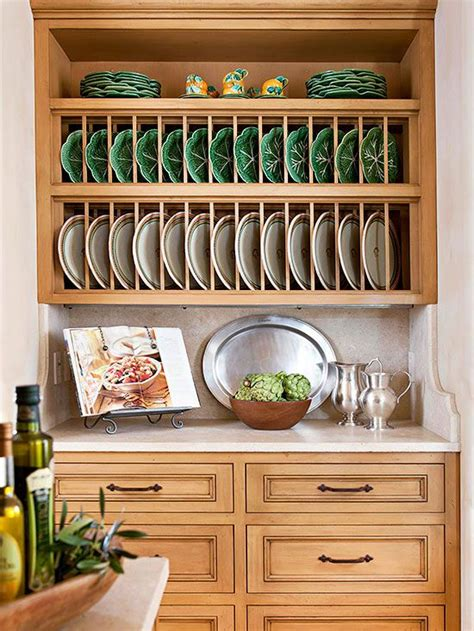 cost cabinet makeovers plate racks large plates  shelving
