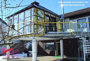Wintergarten Mit Balkon : ein stehbalkon aus stahl und glas krauss gmbh krauss innovation d88285 bodnegg rotheidlen ~ Orissabook.com Haus und Dekorationen