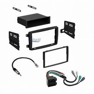 Car Radio Stereo Dash Kit Wire Harness Antenna For 2001