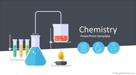 chemistry lesson  powerpoint template designhooks