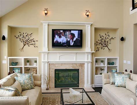 flat screen tvs  fireplaces design tv