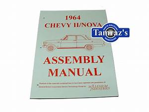 1964 64 Chevy Ii Nova Factory Assembly Manual Loose Leaf