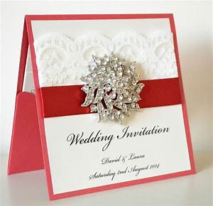 54 best red wedding images on pinterest red wedding With handmade wedding invitations north east