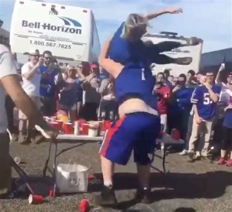 Bills Fans Absolutely Demolishes His Girlfriend By