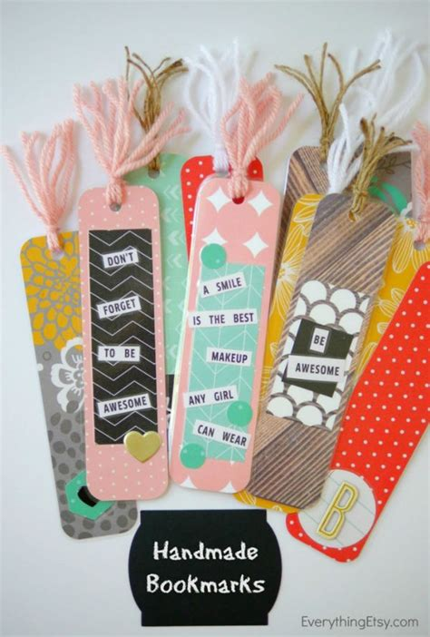 lesezeichen basteln grundschule creative diy bookmarks that you can easily make