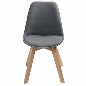 Chaise Scandinave Grise : chaise scandinave grise ~ Melissatoandfro.com Idées de Décoration
