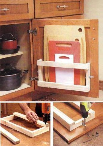 build cool kitchen storage racks step  step diy