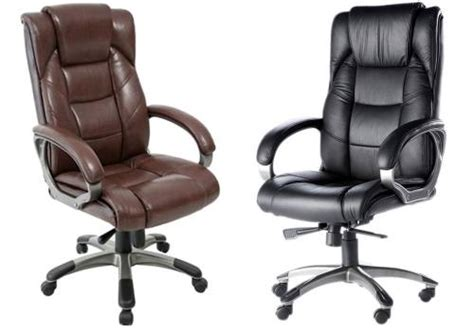 stylish computer tables alphason northland leather executive office chair