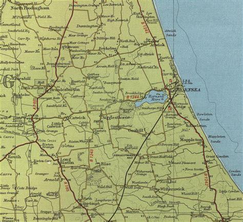hornsea map