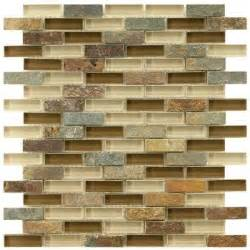 home depot kitchen backsplash merola tile tessera subway brixton 11 3 4 in x 12 in x 8 mm and glass mosaic wall tile
