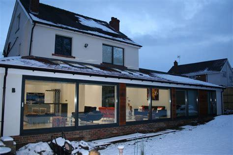 folding kitchen house extension ideas lean to wrap around extension