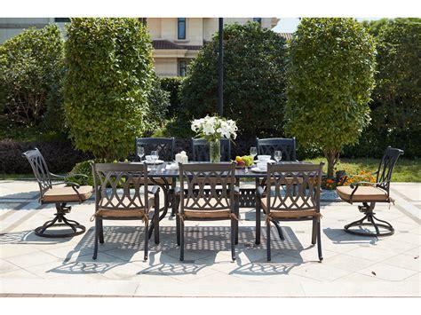 darlee outdoor living standard capri patio dining set
