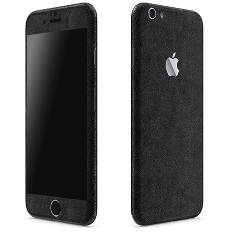iphone  leather series black skins wraps slickwraps