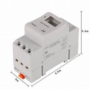 Ac 12v 24v 110v 220v Digital Lcd Power Timer Programmable