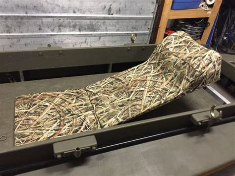 Layout Boat Seat by Building A Kara Hummer Layout Duck Boat 19 Upholstering