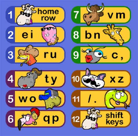 mat typing level 3rd grade keyboarding