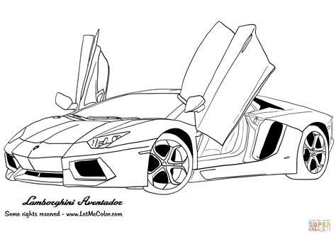 Auto Kleurplaat Lamborghini by Lamborghini Aventador Kleurplaat Gratis Kleurplaten Printen