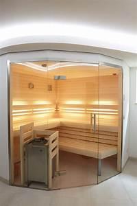Sauna Mit Glasfront : helle sauna mit glasfront erdmann sauna erdmannsaunabau ~ Orissabook.com Haus und Dekorationen