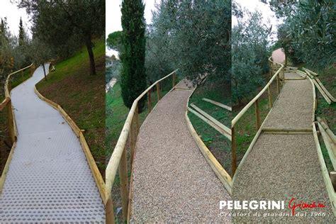 Ghiaia Giardino by Pavimentazione Da Giardino In Ghiaino Pellegrini Giardini