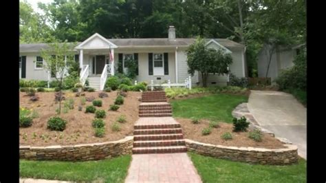 Landscape Design For Sloped Backyard-youtube