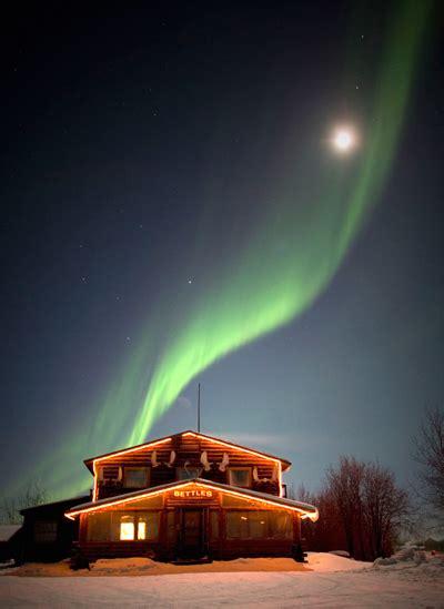 bettles aurora viewing lodge cabin rentals arctic accomodations