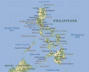 Map of the Philippines  Philippine