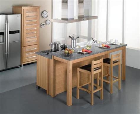 ilot de cuisine alinea ambiance cuisine meubles contarin