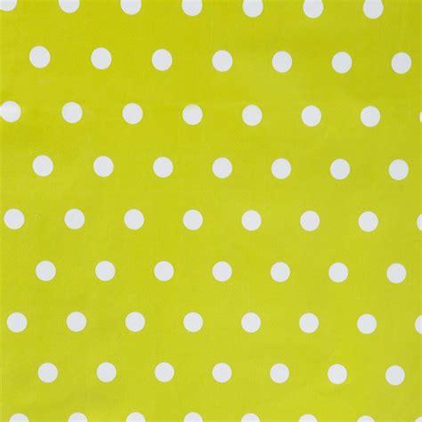 nappe en toile cir 233 e pois 192 vert anis 140x240cm