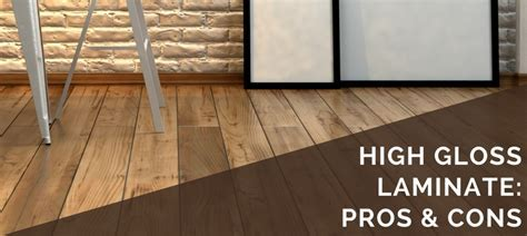 High Gloss Laminate: 6 Pros & 5 Cons   2018 Updated Guide