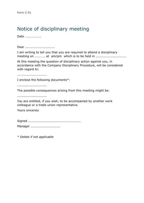 hr warning letter templates  samples examples