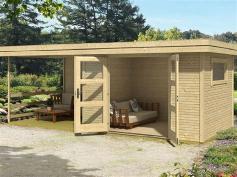 Garage Abri De Jardin by Abri De Jardin Warwick 17 28mm Avec Terrasse Direct Abris